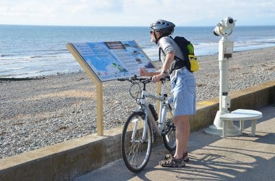 Wildlife and information boards