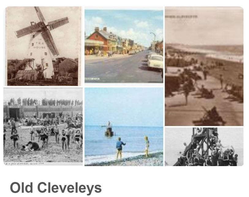 Visit Fylde Coast Pinterest Board 'Old Cleveleys'