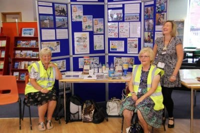 Rossall Beach Buddies Roadshow at Fleetwood Library