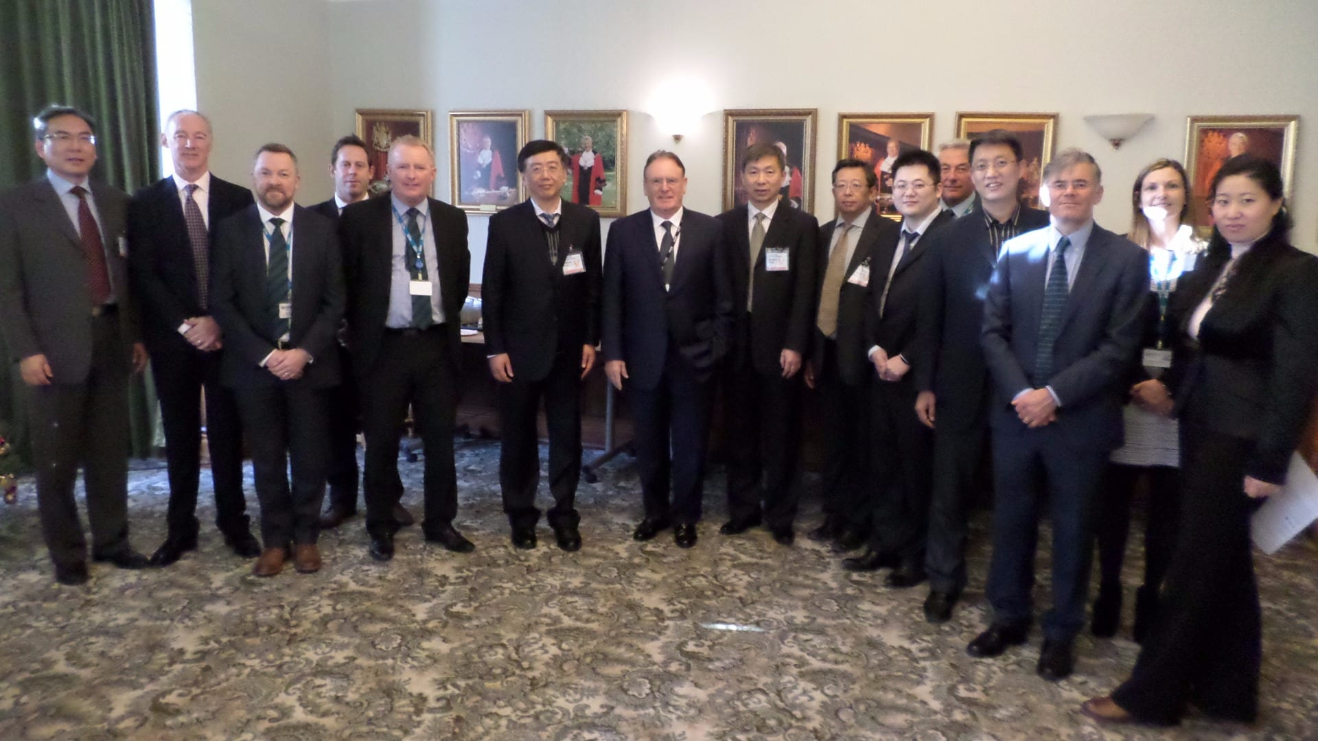 Chinese delegation visit Hillhouse and Wyre