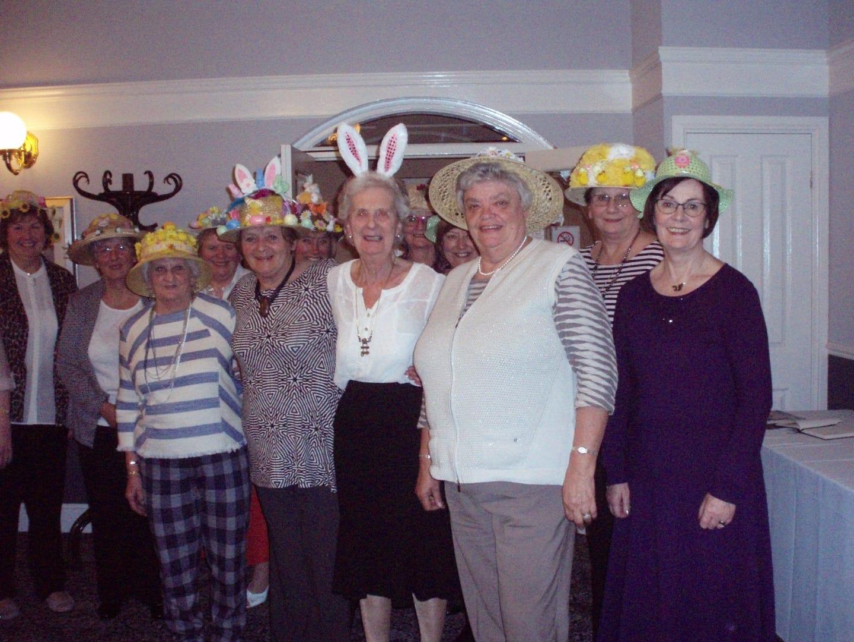 Easter Bonnet Parade with Thornton Cleveleys Inner Wheel