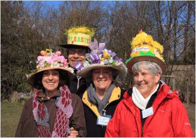 Easter Bonnets at Hawthorne Park
