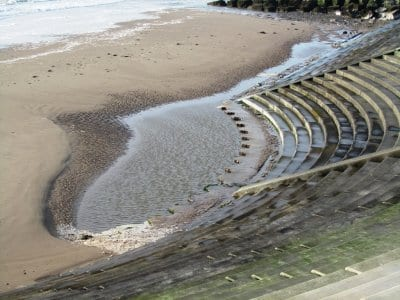 Beach nourishment at Cleveleys to improve low beach levels