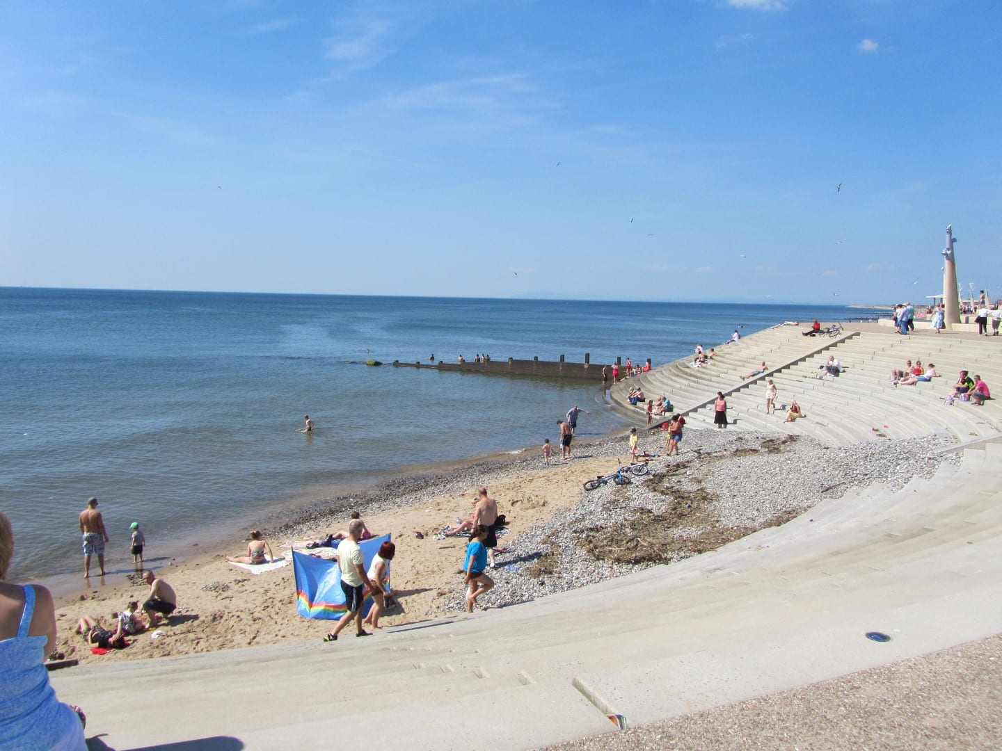 Cleveleys beach as it is today