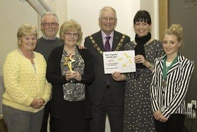Rossall Beach Group win Best Community Group Award