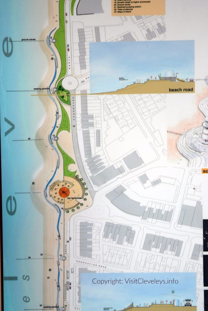 Artists impression of the new sea wall