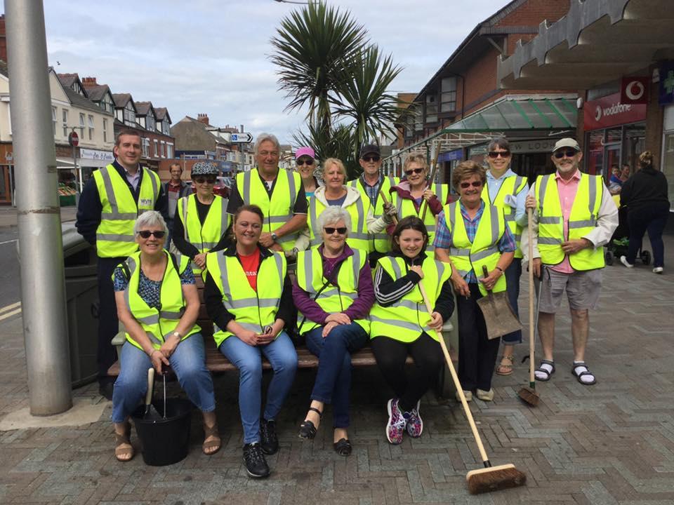 Cleveleys Clean Sweep Team. Cleveleys Coastal Community Team updates