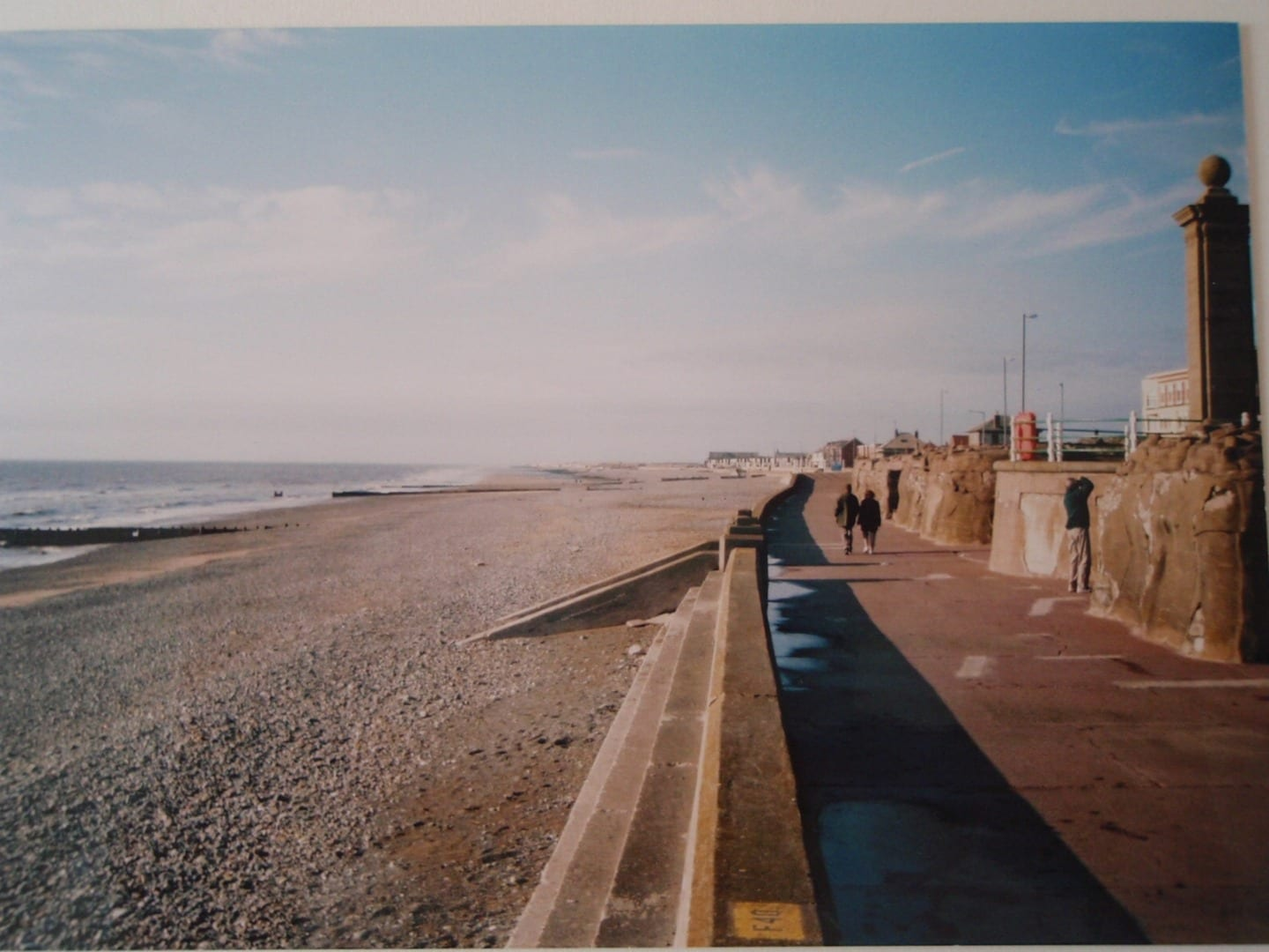 The old promenade at Cleveleys
