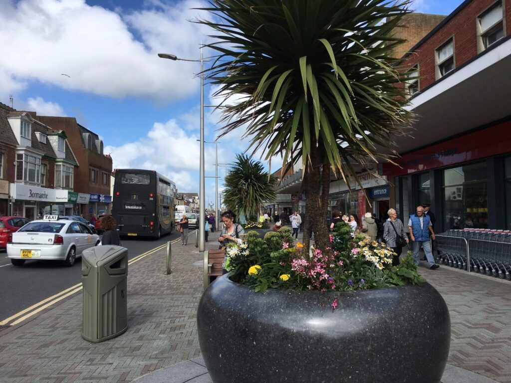 Shopping in Cleveleys town centre
