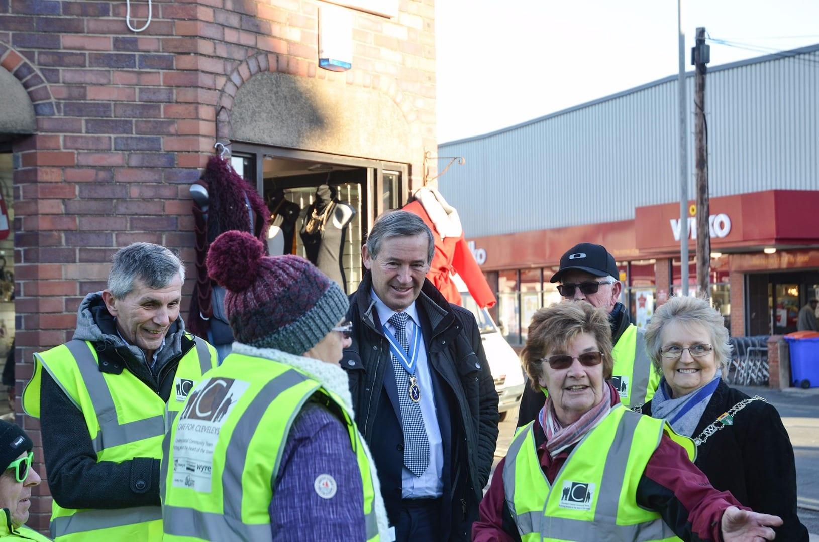 High Sherriff visits Cleveleys Coastal Community Team. Cleveleys Coastal Community Team updates