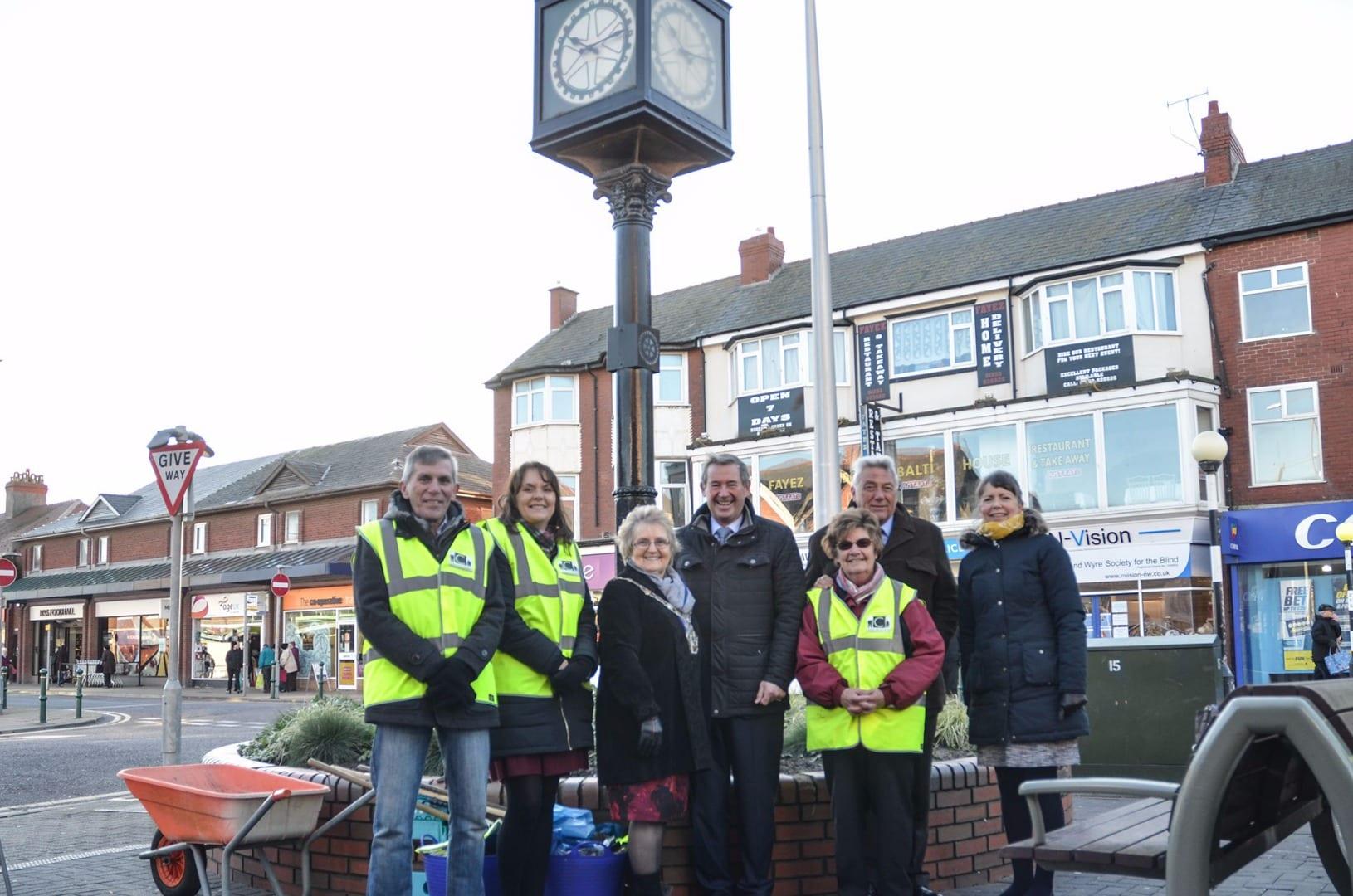 High Sheriff of Lancashire visits Cleveleys Coastal Community Group. Cleveleys Coastal Community Team updates