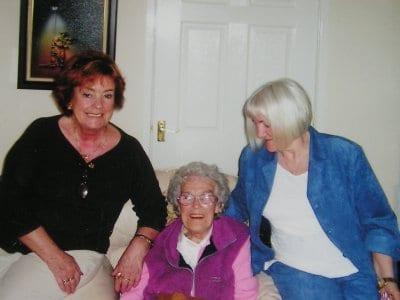 June, sister Pauline& mum