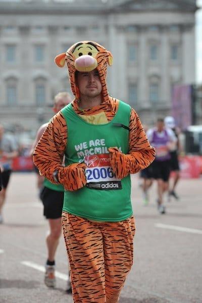 Steve Ormond London Marathon Postie