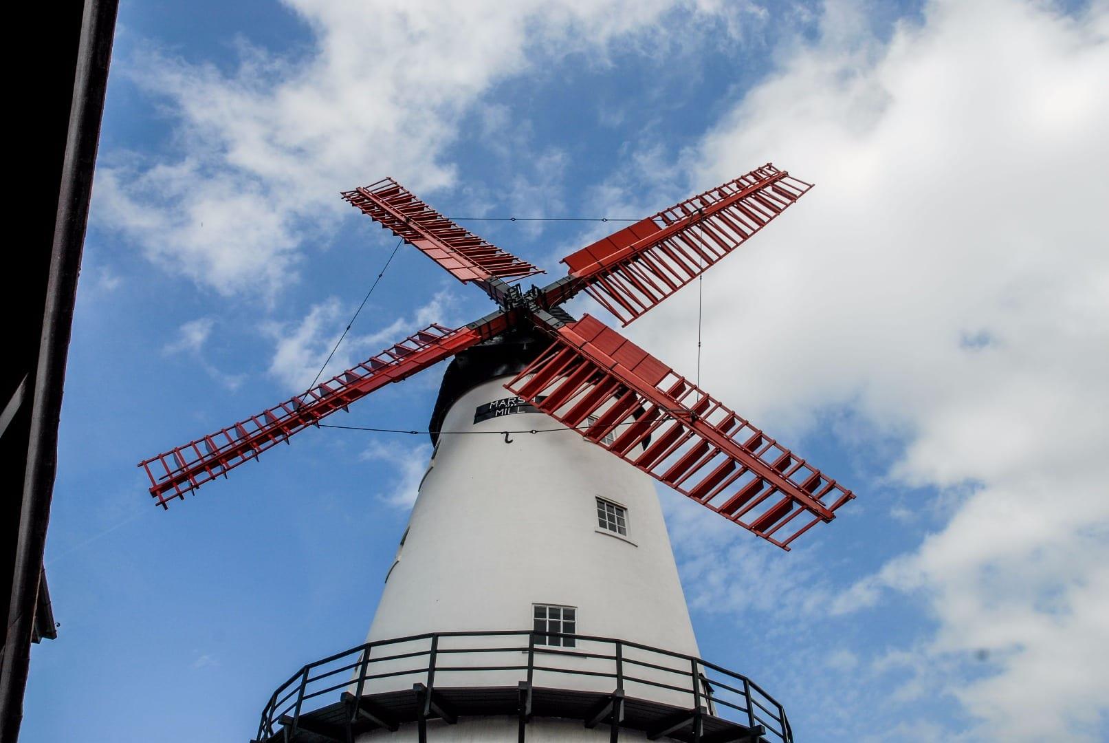 Marsh Mill windmill