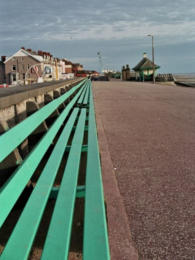 Old promenade at Cleveleys