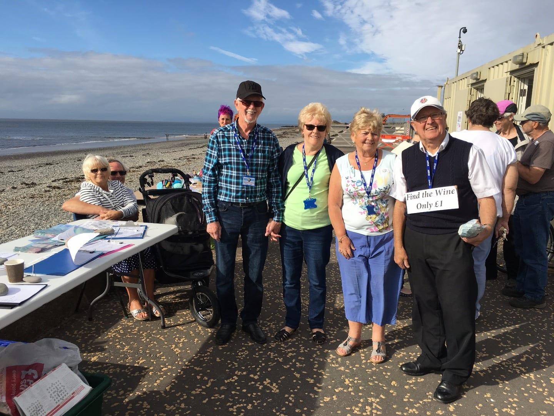 Rossall Beach Group MCS Great British Beach Clean