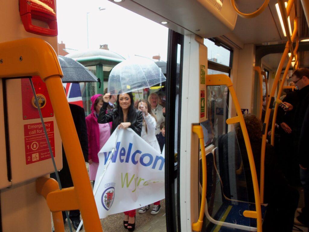 Tram Launch at Cleveleys. Photo: Trevor Burns
